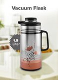 Cyber Vacuum Flask With Lid Cyvf7119 Multicolour