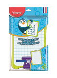 Maped Dry Wipe Whiteboard With Accessories Holder And Pen,21 x 3 x 28 cm (Colour May Vary)