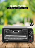 Countertop Toaster Oven 8L HTC118EO Black