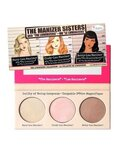 theBalm 3-In-1 The Maniser Sisters Make Up Palette Champagne/Rose/Golden Bronze