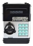 Mini Electronic Coin and Bills Vault with Voice Command