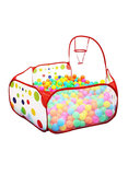 Polka Dot Pattern Foldable Kids Play House Tent OutdoorIndoor Basketball Tent