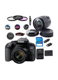 Canon EOS 800D Rebel T7i DSLR Camera With 18-55mm Lens And Essential With Accessories