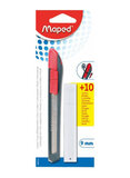 Maped Blade Blister Cutter Red/Black/Silver