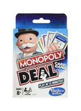 Monopoly 110-Piece Deal Card Games - White/Red/Blue