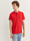 Springfield Ringer Polo Red