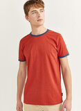 Springfield Ringer T-Shirt Red
