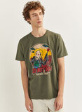 Springfield Graphic T-Shirt Green