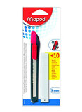 Maped Universal Paper Cutter With Blade Black/Silver/Pink