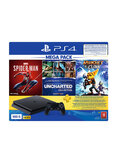 Playstation 4 500GB Console With 3 Games Mega Pack Bundle
