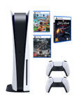Sony Playstation 5 Console With Extra Controller And Games (Demon Souls + Marvel Spider Man Miles Morales + Sackboy: A Big Adventure)