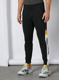 Red Tape  Mens Black Jogger With Side Panel