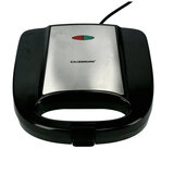 Olsenmark 750W Sandwich Maker - Portable Non-Stick Plates Grill Maker   Handle Locking System   Ideal For Breakfast   Overheat Protection With Indicator Light   2 Years Warranty