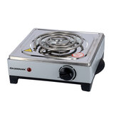 Olsenmark Single Burner Electric Hot Plate - Operating indicator light: On/Off - Heat operation - Over heat protection - Auto-thermostat control - Non-stick coating - Power(watt): 1000 - Single plate Size(mm): 150   2 Years Warranty