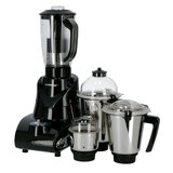 Olsenmark OMSB2384 Mixer Grinder, 5 In 1 | 850W | Overload Protector | Sturdy Handles | 3 Speed Control with Incher