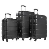 Para John Travel Luggage Suitcase Set Of 3 -  Trolley Bag, Carry On Hand Cabin Luggage Bag (36L, 65L, 95L)