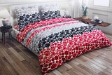 PARRY LIFE Quilt Cover Set - Duvet Cover Set, 4 Pc Flat Sheet, Quilt Cover, & 2 Standard Pillow cases Set 240x260 cm