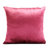 Parry Life Decorative Velvet Cushion Pillow - Decorative Square Pillow Case - Maroon 45*45 Cm