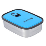 Royalford RF7013BL 350 ML Lunch Box - Thermal Lunch Box with Stainless Steel Thermal Insulation   Microwave & Dishwasher Safe   Leak Proof for Kids, Adult   Suitable for School, Office or Picnic