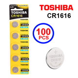 Toshiba CR1616 3V Lithium Coin Cell Battery One Box