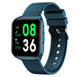 Wownect Smartwatch Waterproof Sports Fitness Tracker with Heart Rate Blood Pressure Monitor Sleep Tracker Motion Monitoring Reminder calls Pedometer App Notifications (Supports Android & iOS) - Blue