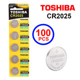 Toshiba CR2025 3V Lithium Coin Cell Battery One Box