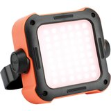 Promate Outdoor Led Flood Light, Rechargeable Ip54 Dust And Water-Resistant 1000 Lumen Led Light With Usb Charging Port -Trekmate-1