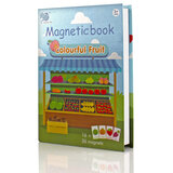 Magnetic Puzzle Book Fruits UKR