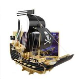 3D Puzzle Pirate Boat Assembly UKR