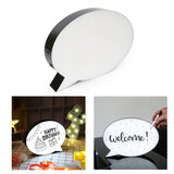 Wownect Led Message Bubble Light Box Wall Decoration Diy Handwriting Letter Message Board Led Drawing Box With 3 Marker Pen Eraser Attached & Usb Cable [Perfect Party Decor]