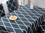 Deals For Less - Table Cloth 140X210Cm,  Rhombs Design