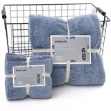 DEALS FOR LESS - 2 Piece Microfiber Bath Towel Set,Grey Color