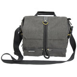 Promate DSLR Camera Bag, DSLR Digital Camera Bag Messenger Shoulder Case with Tablet Pocket and Water resistance Cover