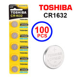 Toshiba CR1632 3V Lithium Coin Cell Battery One Box