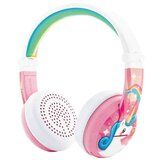 BuddyPhones - Wave Bluetooth Headphones Waterproof Unicorn - Pink