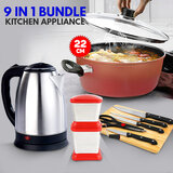 9 in 1 Bundle offer Kitchen Appliances