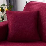DEALS FOR LESS - Cushion Cover 45x45cm, Maroon Color.