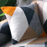DEALS FOR LESS - Cushion Cover 45x45cm, Rhombs Design.