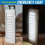 Rechargeable 30 SMD Emergency Light White