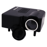 SPARK LED Projector, 48 Lumens, Built In Speaker, Adjustable Focus Lens, A/V, USB & SD CARD, GS-115