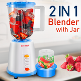 Olympia 2 in 1 Blender 1.5 Liter Jar with 350 Watts
