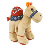 Cuddly Beige Soft Toy Camel With Bright Detailed Embroider,  Size 25cm
