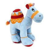 Cuddly Soft Toy Blue Camel With Bright Detailed Embroider,  Size 25cm