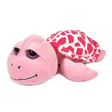 Super Soft Pink Big-Eyed Turtle With Dubai Embroider,  Size 26cm