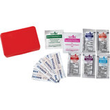 Ss First Aid Kit  -  Compact 11 Pc Set - Red