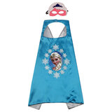 Brain Giggles Frozen Elsa Cape And Mask