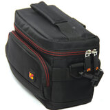 Promate Camera Bag, Compact DSLR Camera and Camcorder Camera case with Padded Shoulder Bag Strap and Internal Storage