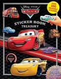 Phidal DISNEY CARS STICKER BOOK TREASURY