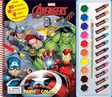 Phidal MARVEL INFINITY DELUXE POSTER PAINT & COLOR