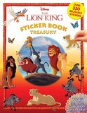 Phidal DISNEY LION KING STICKER BOOK TREASURY